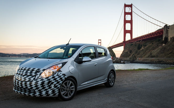 2014 Chevrolet Spark EV Recharges Up To 80 Percent In 20 Minutes. Innovation