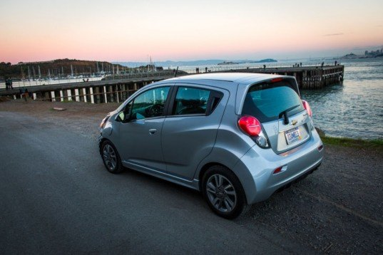 Chevy, Chevy Spark, Chevy Spark EV, General Motors, electric vehicle, Chevy electric car, green transportation, green car, lithium-ion battery, electric motor