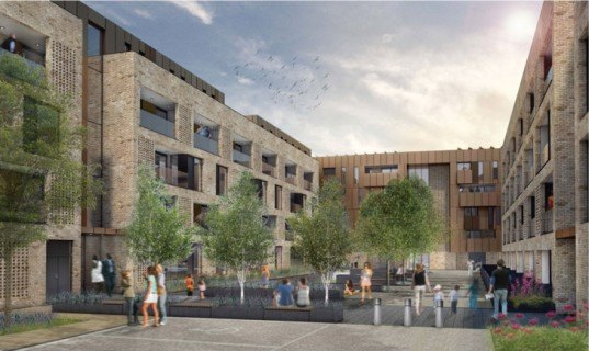 Design ACB, Jaysam Developments, Alpine House, Brent, North London, Code for Sustainable Homes Level 4, BREAM, Dwelling Emission Rate, mixed use, housing, sustainable, live/work