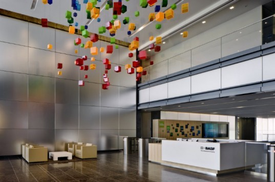 BASF Headquarters, Gensler, KPF, new jersey, leed platinum, leed double platinum, eco office