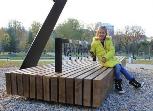 Serbian Park Becomes Greener With Solar Powered Mobile