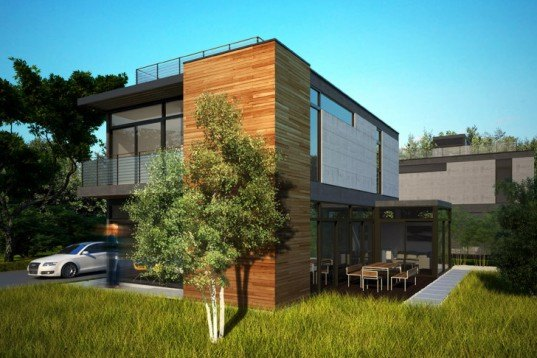 CK Series LivingHomes, Livinghomes, LEED Platinum, prefab, modular, prefabricated homes