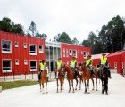 Carabineros Fort is a Sustainable Headquarters for Mounted Police in Colombia