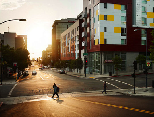 Cedar Gateway, San Diego, Silber Architects, affordable housing, stimulus, ARRD, Chad Ress