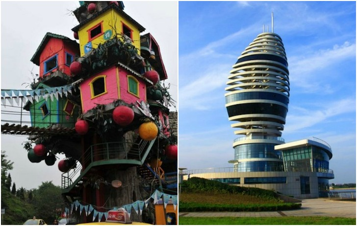 The Craziest House Ideas You Need To Read: Crazy Chinese Buildings From 163.com « Inhabitat