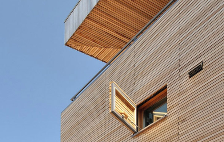 Egeon Architectens WoodClad Home Near Amsterdam Shows Energy