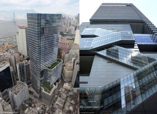 Hysan Place, Hong Kong,Kohn Pedersen Fox, Dennis Lau & Ng Chun Man Architects, China, Office, LEED, Platinum, Mixed-Use, roof garden, atrium, USGBC,