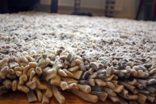 Second Life Rugs Turns Factory Residue Wools Into Beautiful High Pile Inhabitat Green Design Innovation Architecture Building