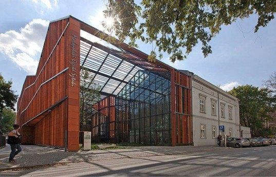 Malopolska Garden of ARts, Krakow Culture Centers, Adaptive Reuse, Ingarden & Ewy Architects, Juliusz Slowacki Theater, green design, eco design, sustainable design,