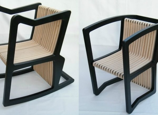 Itay Kirshenbaum, 4 in 1 Chair, rocking chair, bench, beach chair, transforming furniture, green furniture, eco furniture, multi-use furniture, CNC Technology