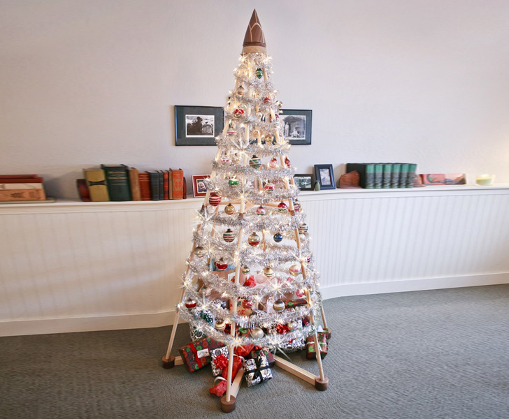 Jubiltree Wooden Christmas Tree Alternative « Inhabitat ...