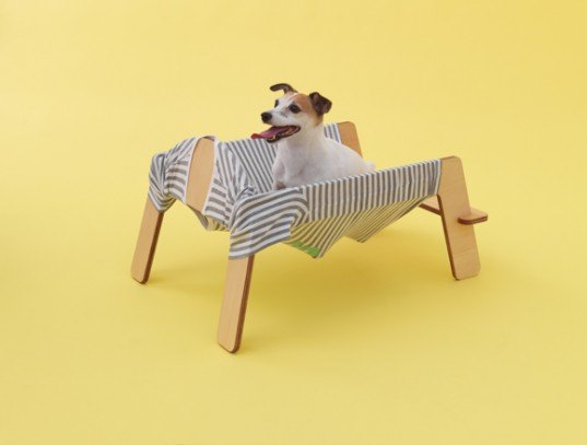 Architecture For Dogs, MUJI, Kenya Hara, Atelier Bow-Wow, MVRDV, Toyo Ito, Konstantin Grcic, Hara Design Institute, man's best friend, dog, kennel, DIY, instructions, recycled cardboard tubes, Animals, Architecture, DIY, Recycled Materials, Modern Pets, green furniture,