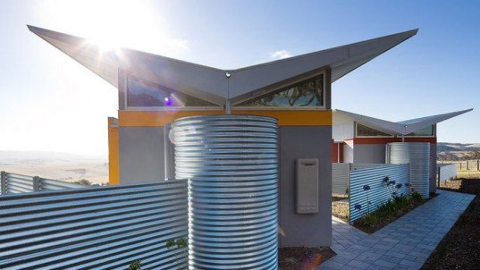 Lush Pastures Cabins, Max Pritchard Architect, eco friendly cabins, south australia, rainwater collection, locally sourced food, eco tourism