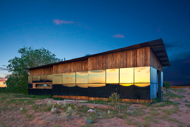 Nakai house is a 25 000 design build bluff home made from for Building a house in utah