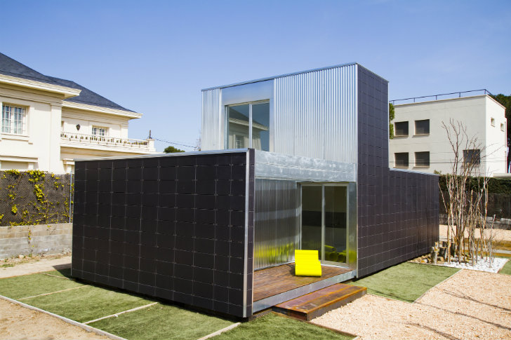 Solar powered samvs modular housing units are super snappy Modular homes with inlaw apartments