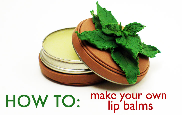 Top DIY Holiday Gift: How To Make Your Own Lip Balms | Inhabitat  BK55