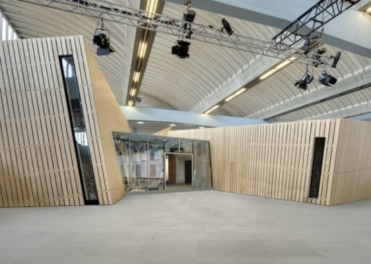 jewish museum berlin, daniel libeskind, renovation, sustainable design, green archtecture, timber construction