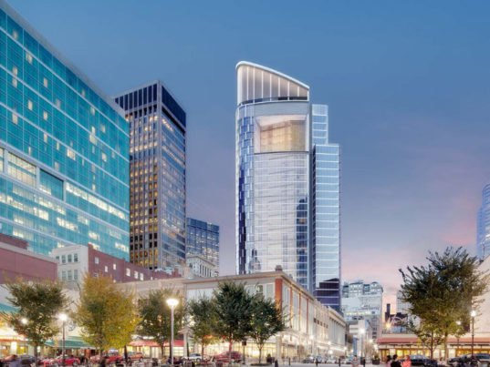 Gensler S Super Sustainable Tower At Pnc Plaza Breaks