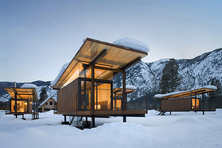Top 6 Cabins For A Green Retreat This Winter Inhabitat Design Innovation Architecture Building