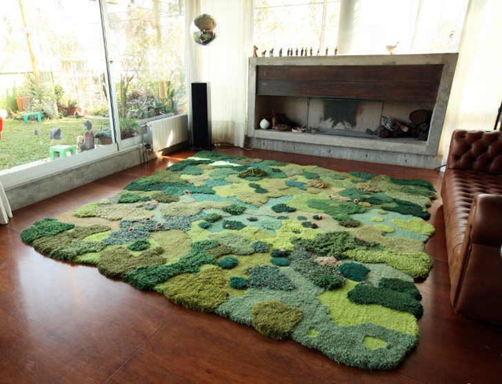 Amazing Landscape Carpets Transform Your Living Room Into A Lush Gry Meadow Inhabitat Green Design Innovation Architecture Building