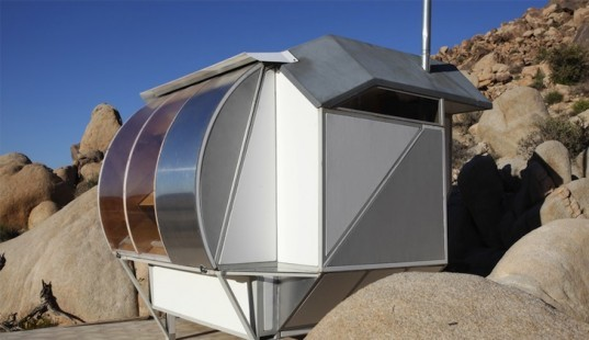 Andrea Zittel, Frederick Kiesler Prize, compact living, tiny homes, A-Z wagons, Indy Island, green design, sustainable design, eco-design, off grid living, art, architecture, awards