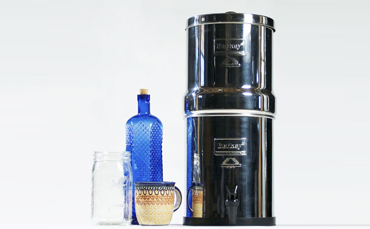 Berkey Water Filters Provide Clean Fresh Drinking Water At Home and