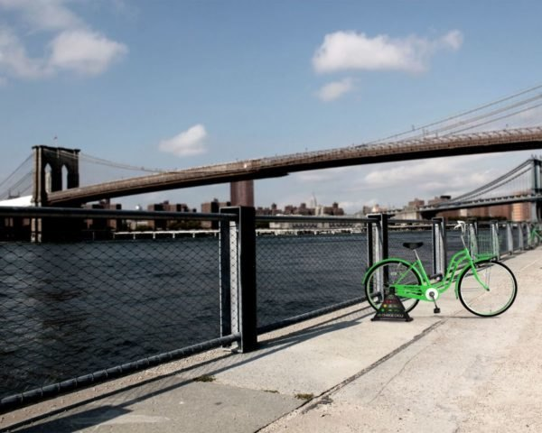 The Charge Cycle, pedal power, phone charger, Kickstarter, human power, New York City,