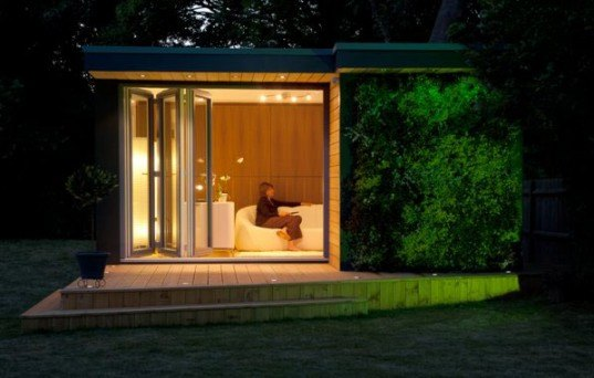 Eden Garden Room, England, garden room, garden office, energy-efficient structure