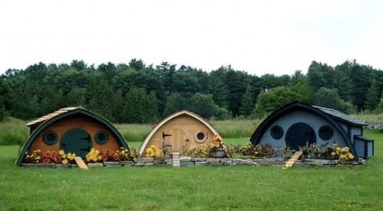 hobbit hole, chicken coops, wooden wonders, maine, lord of the rings, jrr tolkein