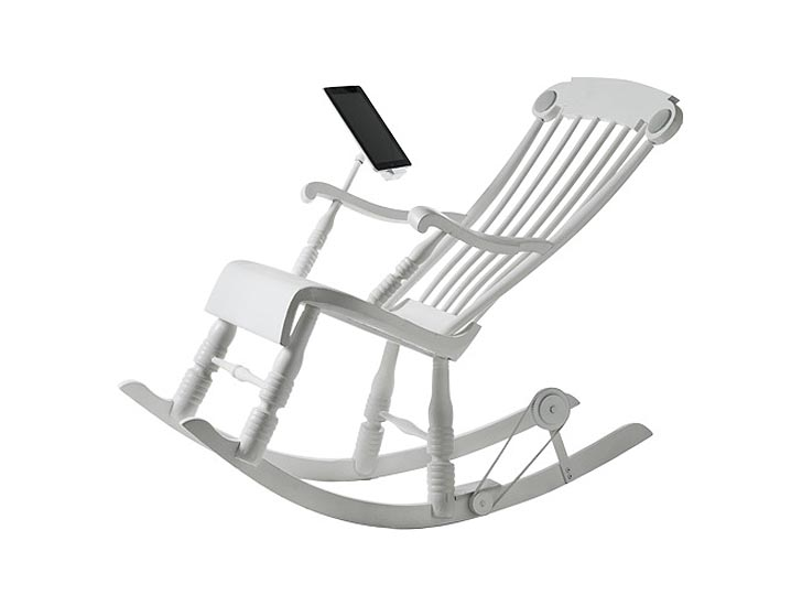 Rock Your Way to a Charged iPad With the iRock Chair | Inhabitat - Green  Design, Innovation, Architecture, Green Building