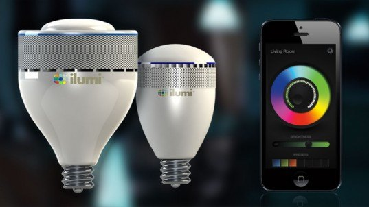 ilumi, bluetooth, light bulb, led, smartphone, wireless, programmable, ios, android