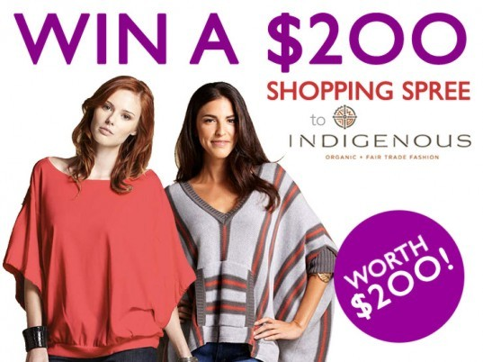 Indigenous Designs, Indigenous, Ecouterre giveaway, $200 gift certificate, fair trade clothing, eco-fashion, organic clothing, free range alpaca, low-impact dyes