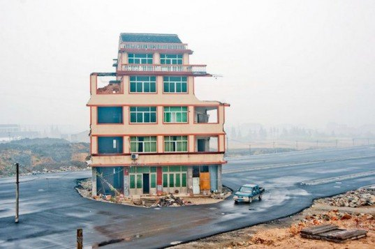 nail house, china, urban development, city redevelopment, infrastructure building, sustainable design, green development, urban design