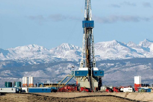 Natural Gas, natural gas drilling, fracking, mountains, drill rig
