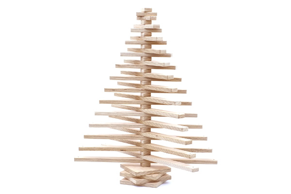Eco Friendly Christmas one two tree: an eco friendly christmas tree that can be styled to