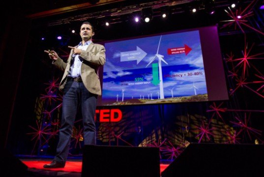 the saphonian, wind, bladeless, zero blade, saphon energy, tedglobal 2012, hassine labaied