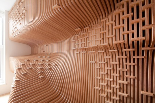 Sda S Stunning Wood Wrapped Chelsea Workspace Features A