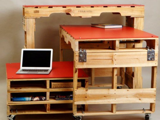 Studio Levant, Pallet Furniture, recycled shipping pallets, pallets, Ivan Levant