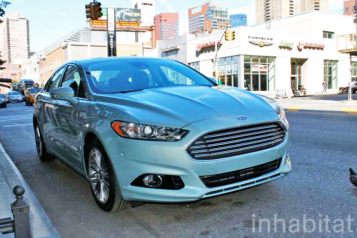 test drive: inhabitat takes ford's stylish 2013 fusion hybrid for a
