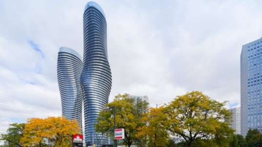 Absolute Towers, MAD Architects, residential towers, canada, mississaugua, eco towers