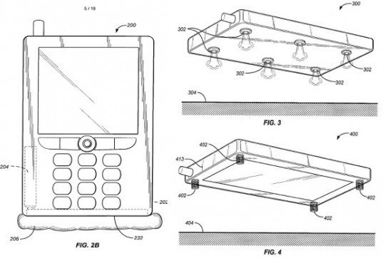 Amazon, Jeff Bezos, smartphone, airbag, phone accessories, patent