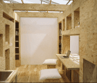 Barcode Room is a Space-saving Apartment That Can be Configured in Multiple Combinations