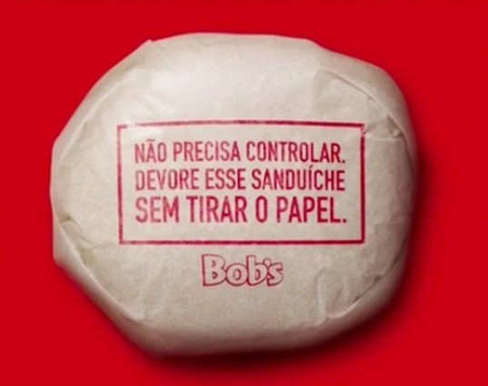 Bob, hamburgers, fast food, packaging, edible packaging, paper waste, Brazil, NBS, biodegradable, compost