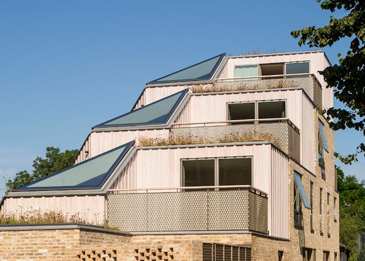 Stepped Wildflower Roofs Top The Innovative Church Walk Housing Block In  London