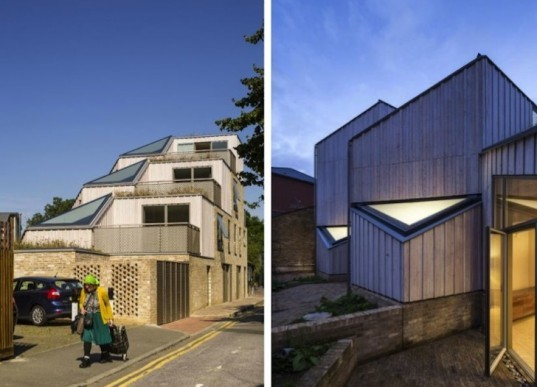 David Mikail, Annalie Riches, London, Ziggurat, Church Walk, urban density, urban design, wildflower roof, green roof, stepped roof housing, BRE guide to natural light, green design, sustainable design, eco-design, UK