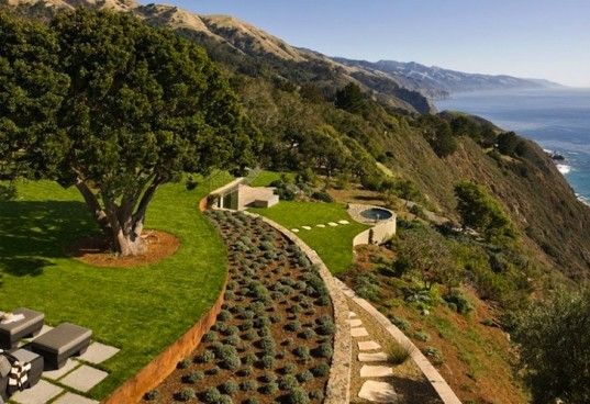 Carver + Schicketanz, Pacific Ocean, Big Sur, California, solar power, renewable energy, PV, photovoltaic, natural ventilation, green design, sustainable design, eco-design, reclaimed materials