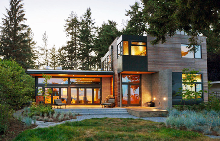 Ellis Residence: A Stunning LEED Platinum Home on Bainbridge Island by  Coates Design | Inhabitat - Green Design, Innovation, Architecture, Green  Building