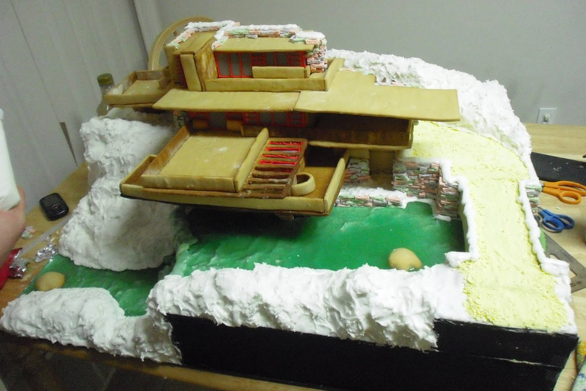 Melodie Dearden Creates A Perfect Gingerbread Replica Of