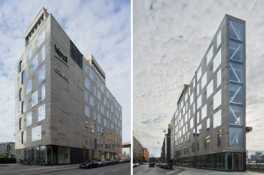 Flat Iron Building, Rosenbergs Arkitekter, stockholm, eco office, leed gold office