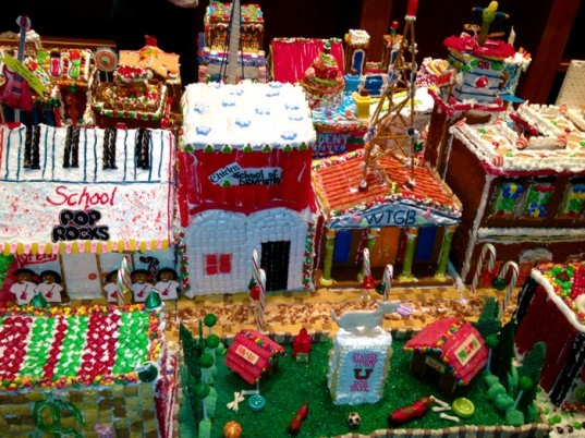 top 10, baking, holidays, Gingerbread Architecture, sustainable buildings, 2012, christmas